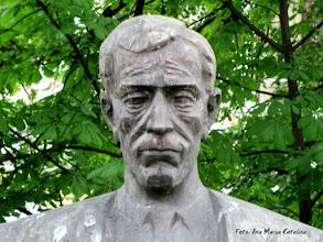 Photo: Bustul lui Teodor Murasanu - detaliu - (2011.05.09)