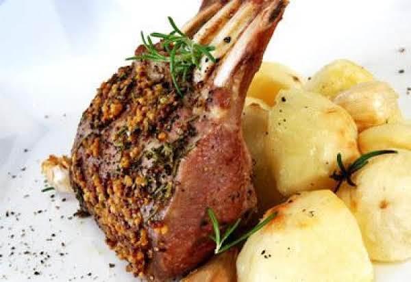 Roasted Rack Of Lamb Recipe