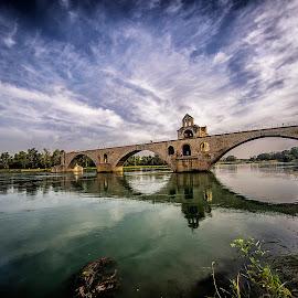 Saint Benezet,Avignon by Stanley P. - Buildings & Architecture Bridges & Suspended Structures