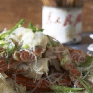 Claypot Crab With Glass Noodles.