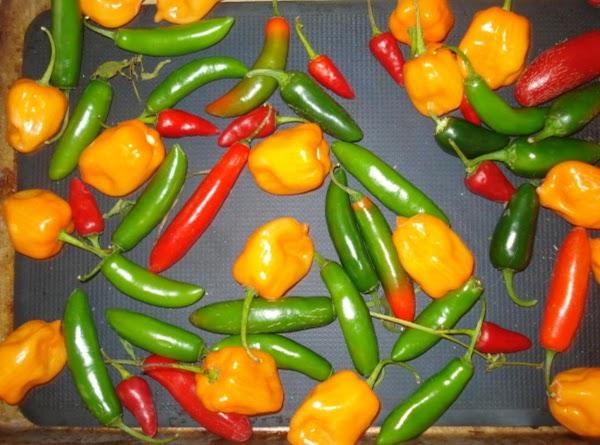 Hot Peppers For Josele And Robert, Ha! Recipe
