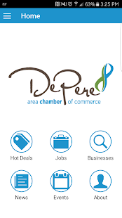 De Pere Chamber- screenshot thumbnail