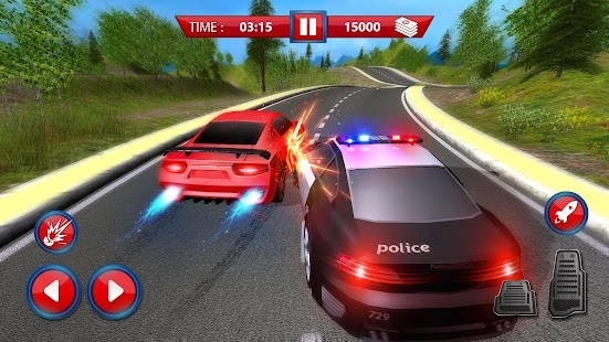 New York Police Car Chase - The Cop Car Driver - náhled