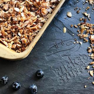 Crunchy Keto Granola {Grain-Free, Low Carb}.