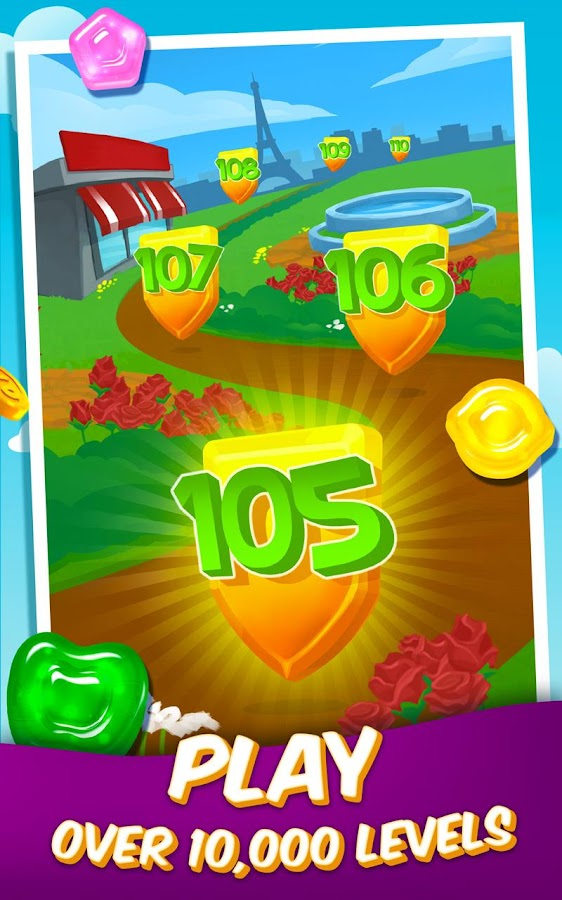 Gummy Drop! – Free Match 3 Puzzle Game- screenshot