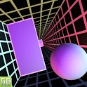 Happy Ball Race Tunnel Non Stop icon
