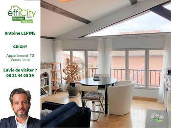Appartement 2 pièces 37,54 m2