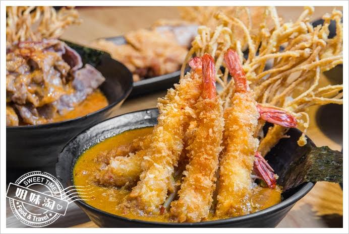 拉瑪右手泰式咖哩丼大蝦FUN泰多咖哩丼