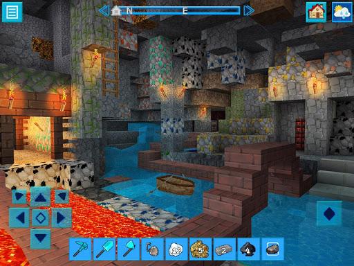 AdventureCraft: 3D Block Building & Survival Craft  20