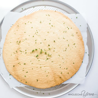 4-Ingredient Pizza Crust (Paleo, Low Carb).