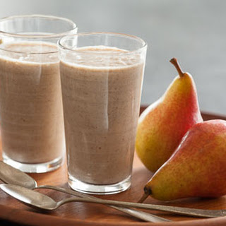 Cinnamon-Roasted Pear Smoothie.