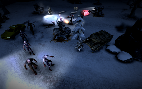 Zombie Chase: Tsunami Defence screenshot