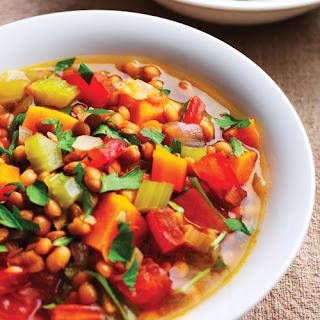 Lentil & Sweet Potato Stew.