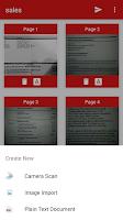 Screenshot of PDF Document Scanner
