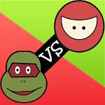 Turtle vs Ninja - tic tac toe