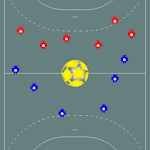 Tactic Board Handball Icon