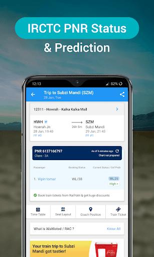 RailYatri - Live Train Status, PNR Status, Tickets screenshot 5