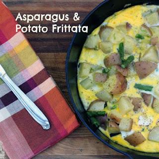 Asparagus and Potato Frittata.
