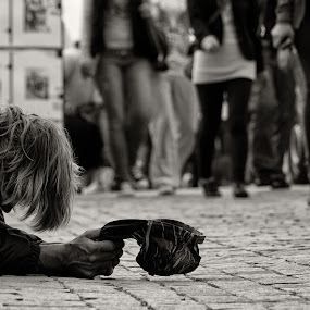 Bypassed by Radu Moldovan - People Street & Candids ( sad )