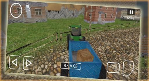 农用拖拉机停车