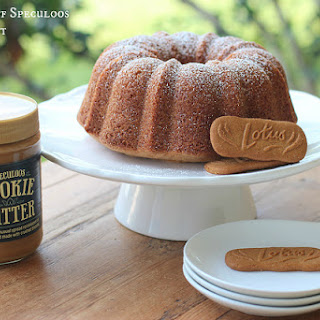 Biscoff Speculoos Cookie Butter Bundt.