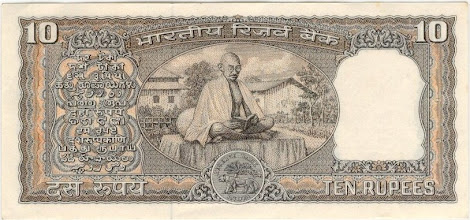 Photo: D13 Reverse Gandhi Centenary issue