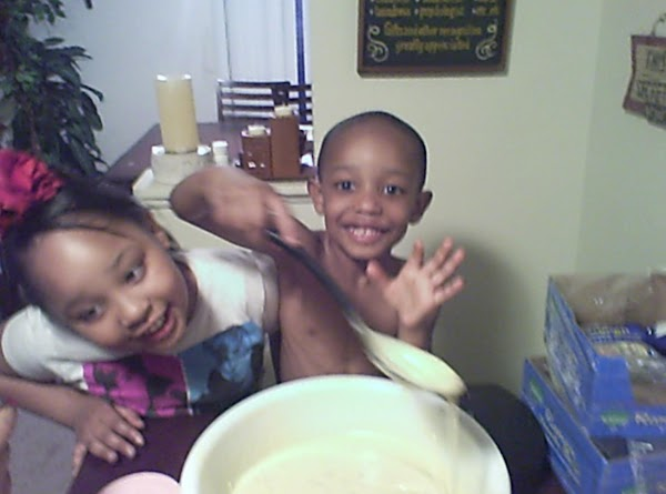 I just love to see my children happy