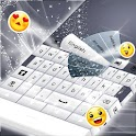 Simple Keyboard White icon