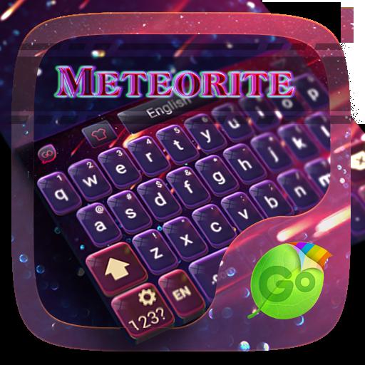 个人化のMeteorite Emoji Keyboard Theme LOGO-HotApp4Game