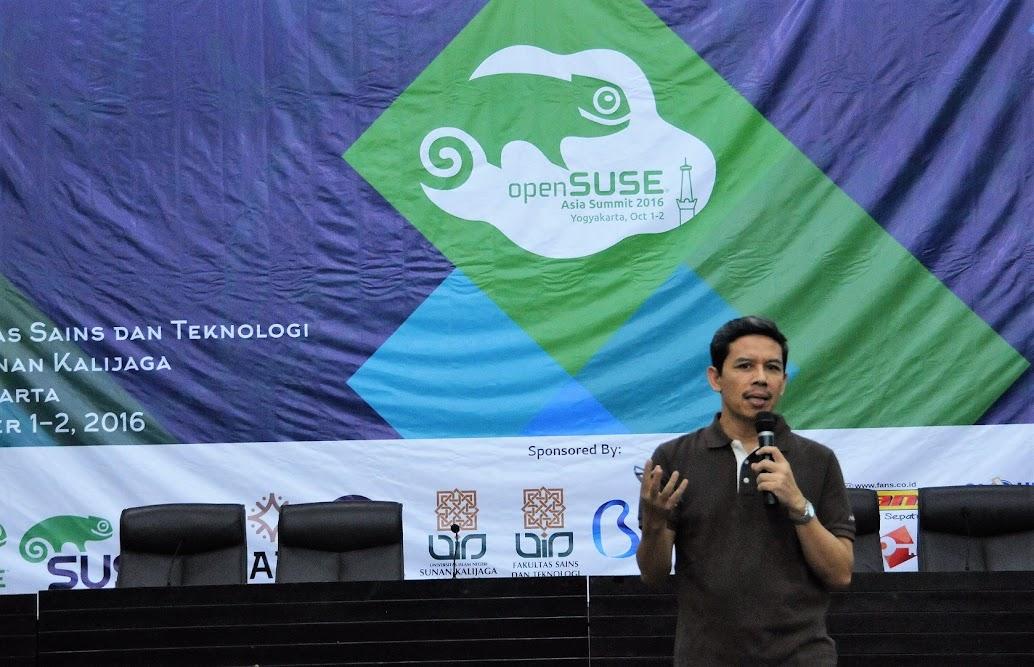 UIN Suka Tuan Rumah OpenSUSE Asia Summit 2016