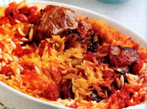 Arnaki Youvetsi Lamb Baked Casserole Recipe