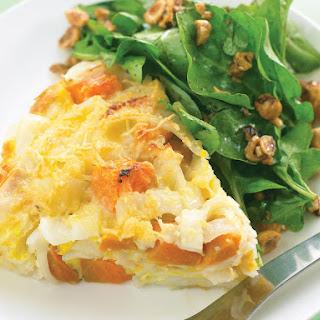 Sweet Potato and Rice Noodle Frittata.