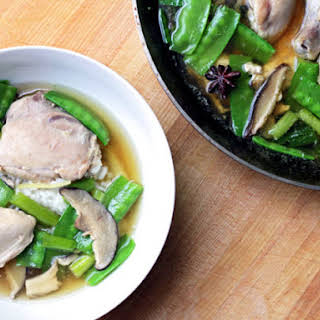 Barbara Kafka's Chinese Chicken in the Pot.