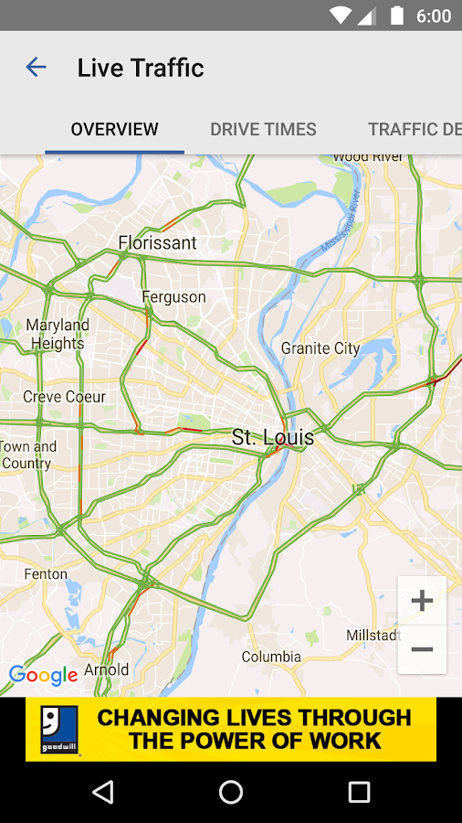 TrafficStL- screenshot
