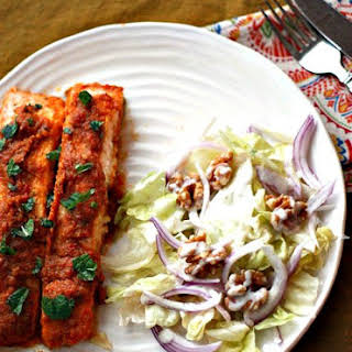 Indian Spiced Roast Salmon #SundaySupper.