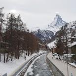 Matterhorn in Switzerland in Zermatt, Valais, Switzerland