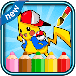Coloring book for pokem fans icon