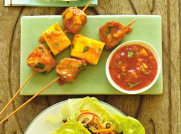 Pork Pineapple Skewers Recipe