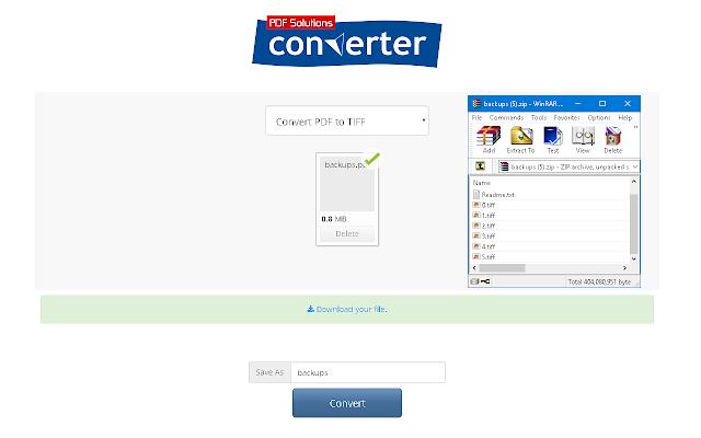 PDF to TIFF Converter