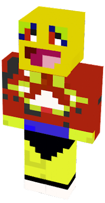 THIS IS THE MSB FROM YOUTUBE AS A MINECRAFT CHARACTER THE BLOB GUY
