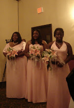 Photo: us bridesmaids - Tanesha's sister Courtney was the maid of honor