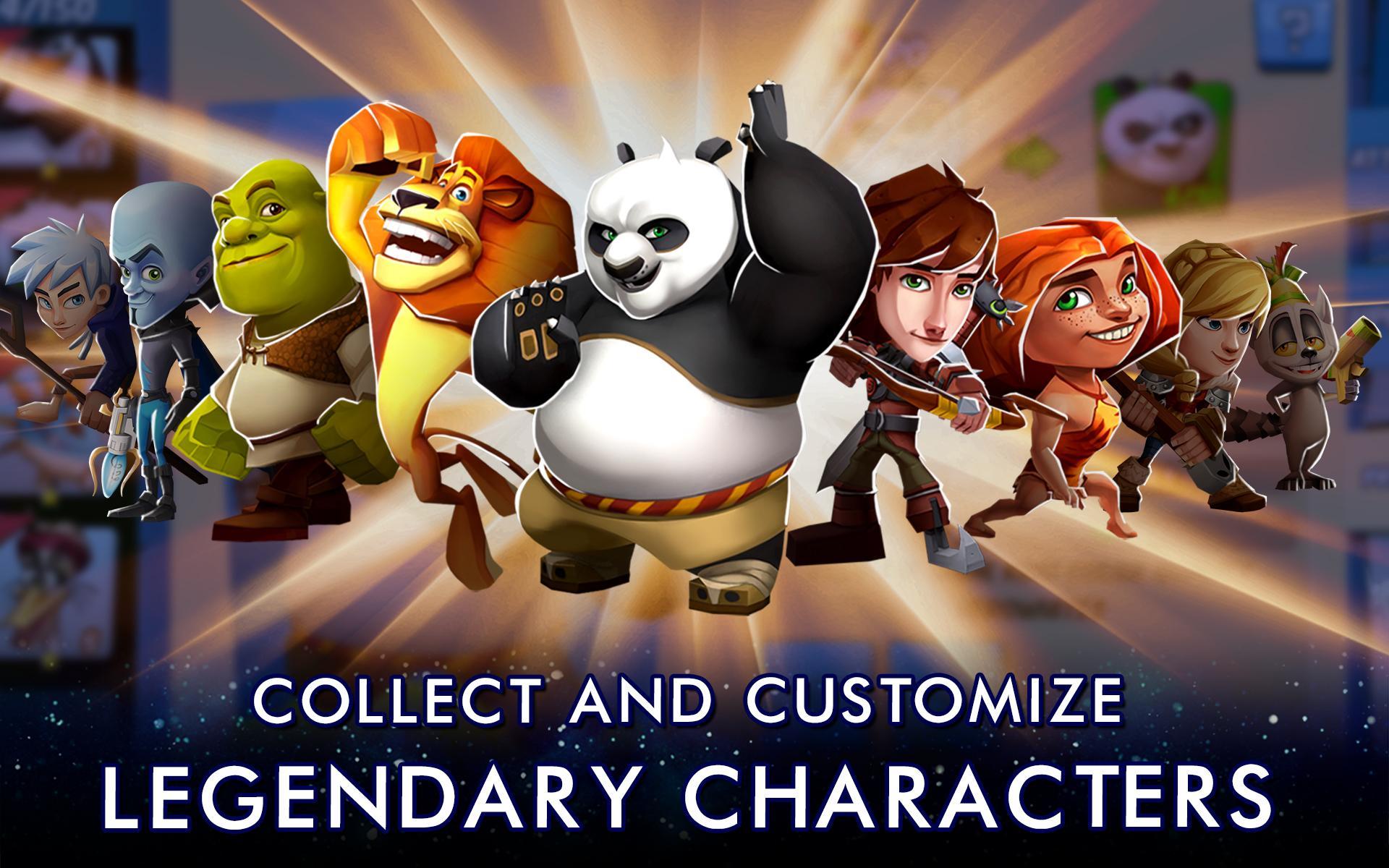DreamWorks Universe of Legends screenshot #12
