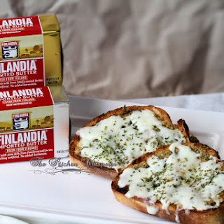 Finlandia Premium Butter Garlic Bread Spread