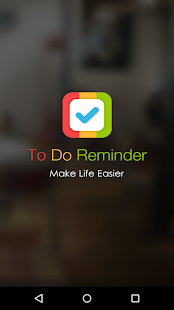 To Do Reminder Screenshot