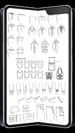 Digital Fashion Design Flat Sketch Pro Apk Download Apkpure Ai