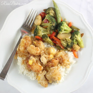 Homemade Chinese Orange Pineapple Chicken Recipe