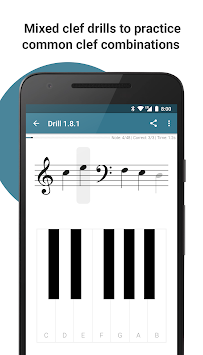 Complete Music Reading Trainer apk screenshot