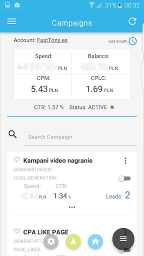 Ads Manager for Facebook 1.0.7 screenshots 2