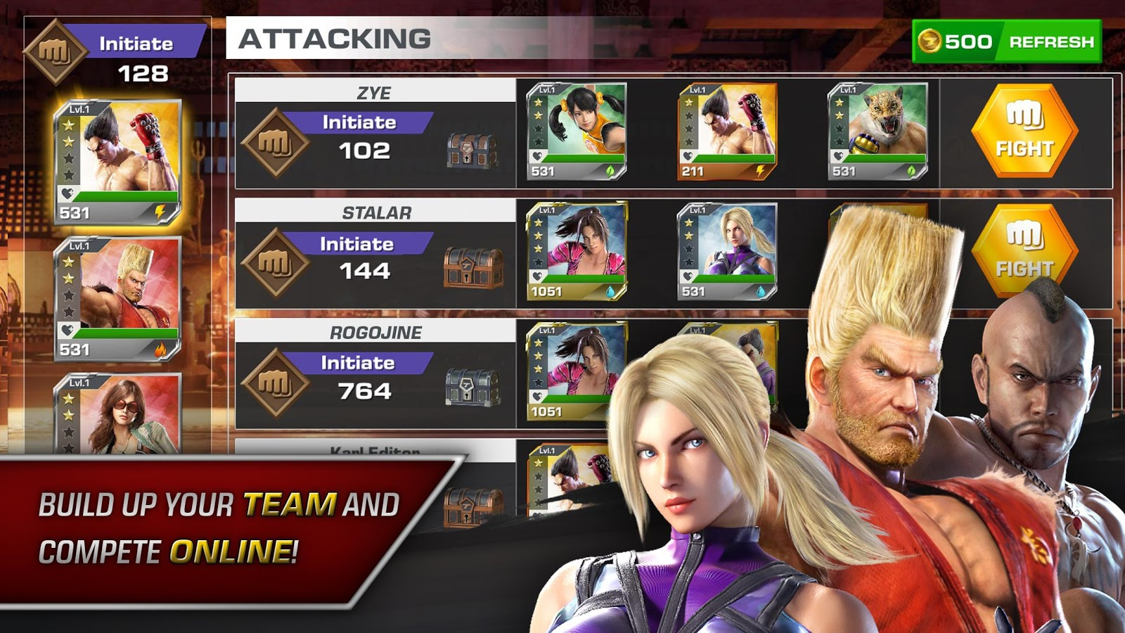 TEKKEN™- screenshot