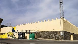 Nuevo aspecto del exterior del campo de fútbol Los Suspiros de Tabernas.